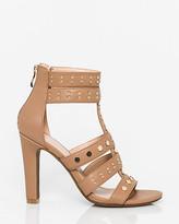 Le Château Leather-Like Open Toe Gladiator Sandal