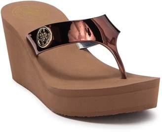 GUESS Shadia Platform Wedge Sandal