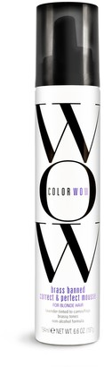 COLOR WOW Brass Banned Correct & Perfect Mousse For Blonde Hair 200Ml