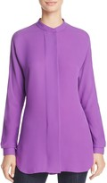 Theory Silk Georgette Blouse
