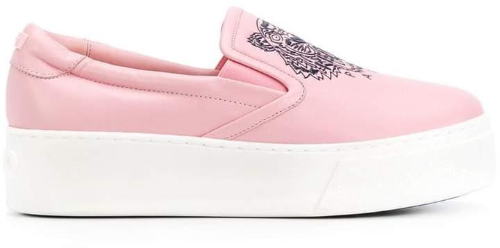 7b918564d Kenzo Platform Sneakers - ShopStyle