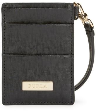 Furla Oxford Leather Card Case