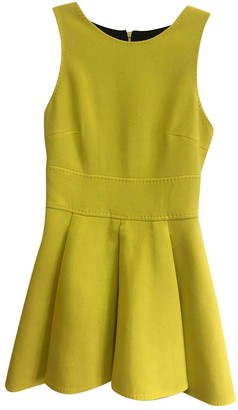 Fausto Puglisi Yellow Wool Dress for Women