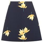 Marni Printed Crêpe Skirt