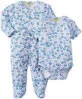 Kissy Kissy Qt Pop Fizz Footie & Bodysuit (Baby) - Blue-6-9 Months