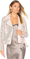 NOUR HAMMOUR Schism Jacket in Blush. - size 34/0 (also in )