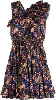 Ulla Johnson Iliana geometric print dress
