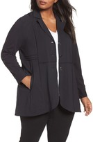 Nic+Zoe Plus Size Women's Seamed Riding Jacket