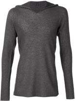 Label Under Construction hooded sweater - men - Silk/Cashmere/Alpaca - S