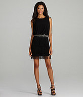 JS Boutique Blouson Fringe-Skirt Dress