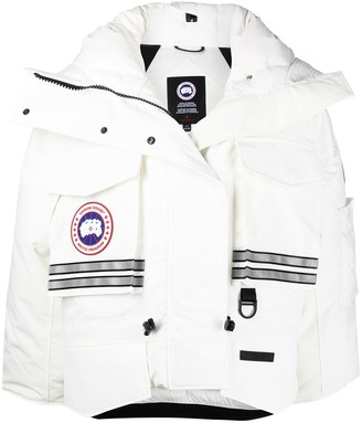 Canada Goose x Angel Chen cropped snow mantra jacket