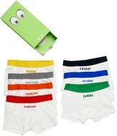 Stella McCartney Arthur 7 Days Underwear Set (Toddler/Kid) - White - 6 Years