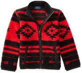 Ralph Lauren Full-Zip Southwestern-Pattern Fleece Jacket, Toddler Boys (2T-5T) & Little Boys (2-7)
