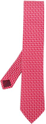 Salvatore Ferragamo Graphic Print Tie