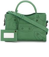 Balenciaga Blackout City Mini cross-body bag - women - Leather - One Size
