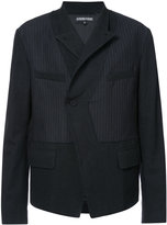Alexandre Plokhov symmetric stripe panel jacket