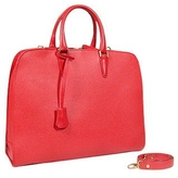 Fontanelli Red Leather Ladies' Briefcase