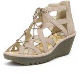 Fly London Womens Yeli719fly Cupido Wedge Sandals-UK 5
