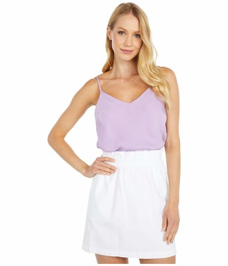 Cupcakes And Cashmere Women's Dottie Soft Satin Cami with Adjustable Straps