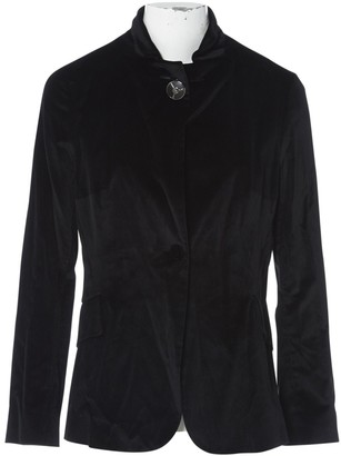 Celine Black Velvet Jackets