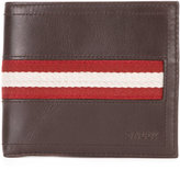 Bally Tolodi stripe panel wallet - men - Cotton/Calf Leather - One Size