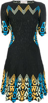 Peter Pilotto contrast print dress - women - Polyamide/Spandex/Elastane/Viscose - 8