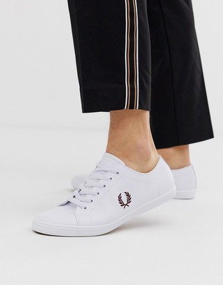 Fred Perry Kingston leather sneakers in white