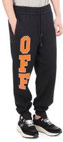 Off-White Off Collegiate Cotton Sweatpants