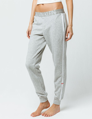 Calvin Klein Lounge Heather Gray Womens Jogger Pants