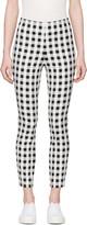 Rag & Bone Black and White Check Simone Trousers