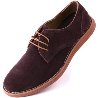 MIO Marino Men's Suede Derby Casual Dress Shoes