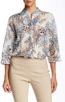 Insight Floral Print Shirt Jacket