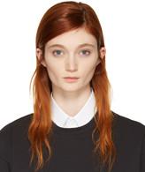 Hyke White Detachable Collar