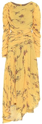 Preen by Thornton Bregazzi Sandra pleated georgette dress