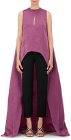 Narciso Rodriguez Women's Matte Silk Satin Trapeze Gown