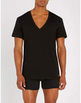 Calvin Klein pack of two cotton-jersey T-shirts