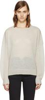 Etoile Isabel Marant Beige Mohair Clifton Sweater