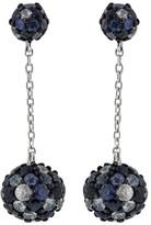 Effy Jewelry Effy 925 Splash Blue Sapphire Earrings, 3.96 TCW