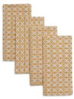 Sur La Table Chainlink Print Napkins, Set of 4