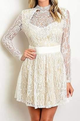 Banjul Lace Mini Dress