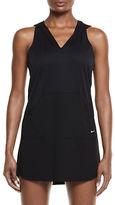 Nike Solid Raceback Hooded Dress