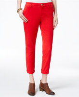 Tommy Hilfiger Cuffed Chino Straight-Leg Pants, Only at Macy's