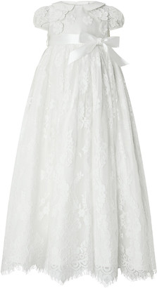 Under Armour Baby Provenza Silk Christening Gown Ivory