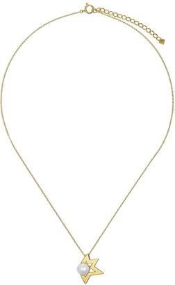Tasaki 18kt yellow gold Comet Plus pendant