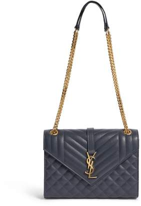 Saint Laurent Medium Matelasse Envelope Shoulder Bag