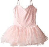 Bloch Heart Mesh Camisole Tutu Dress (Toddler/Little Kids/Big Kids)