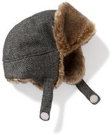 Old Navy Tweed Faux-Fur Trapper Hat for Baby