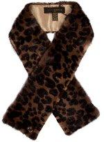Louis Vuitton Leopard Mink Stole w/ Tags w/ Tags