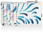 Amanda West Vegan Leather Card Holder - Florals