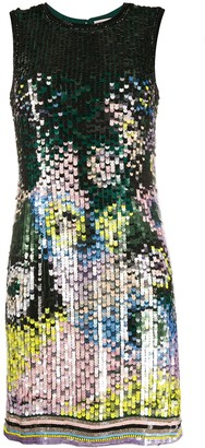 Emilio Pucci Sequin-Embellished Mini Dress
